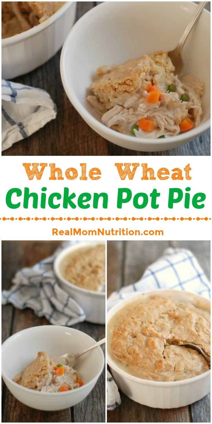 Chicken Pot Pie Calories  Whole Wheat Chicken Pot Pie Real Mom Nutrition