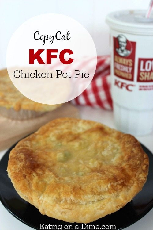 Chicken Pot Pie Calories  kfc chicken pot pie nutrition