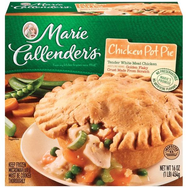 Chicken Pot Pie Calories  Marie Callender S Nutrition Facts Pie Nutrition Ftempo