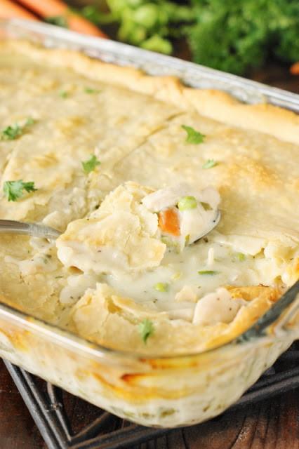 Chicken Pot Pie Crust Recipe  Chicken Pot Pie 2 Ways Pie Crust or Biscuit Topping