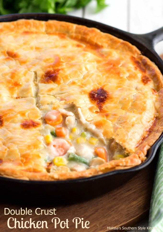 Chicken Pot Pie Crust Recipe  one crust chicken pot pie recipe