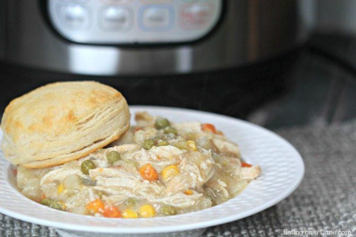 Chicken Pot Pie Instant Pot  Instant Pot Chicken Pot Pie Recipe Eating on a Dime