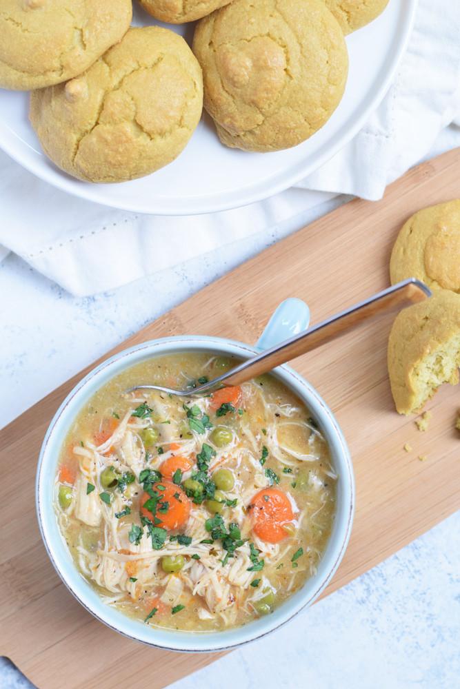 Chicken Pot Pie Instant Pot  Chicken Pot Pie Soup Instant Pot or Slow Cooker Living