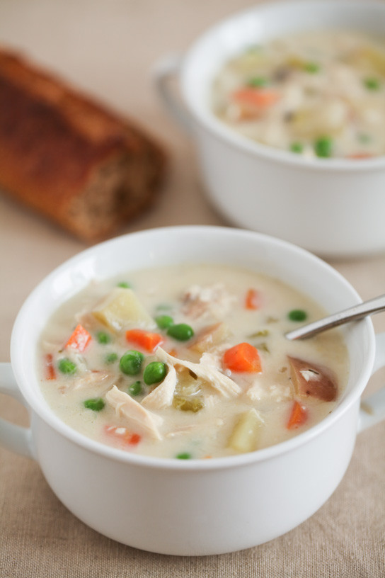 Chicken Pot Pie Soup Crock Pot  Chicken Pot Pie Soup