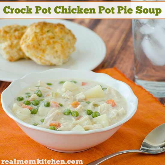 Chicken Pot Pie Soup Crock Pot  Crock Pot Chicken Pot Pie Soup