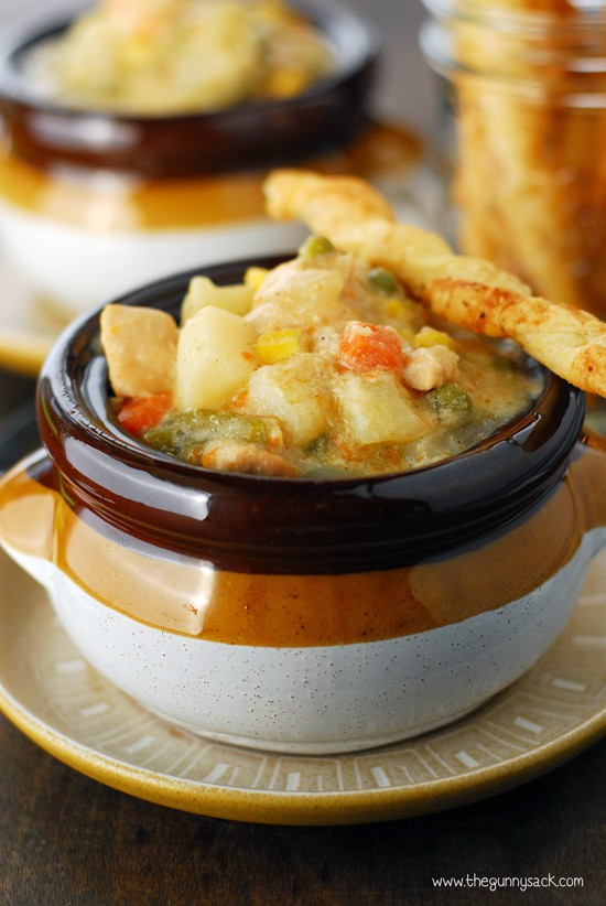 Chicken Pot Pie Soup Crock Pot  CrockPot Chicken Pot Pie Slow Cookerster