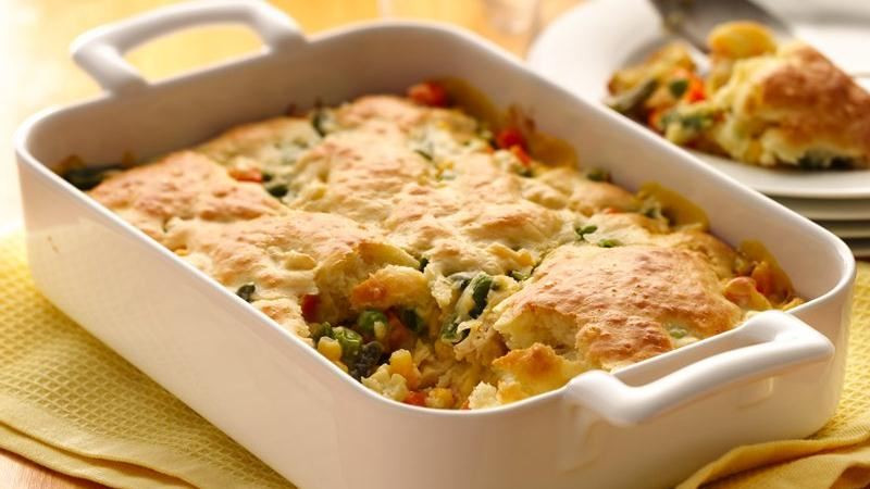 Chicken Pot Pie With Bisquick  Hearty Chicken Pot Pie recipe from Betty Crocker