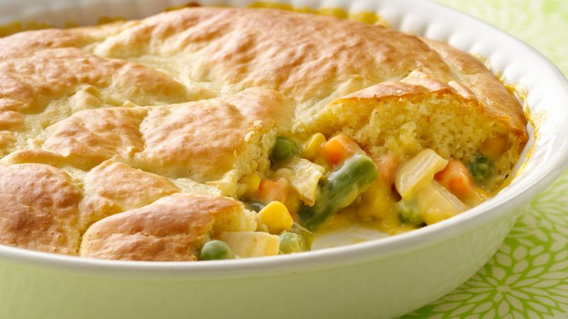 Chicken Pot Pie With Bisquick  Impossibly Easy Chicken Pot Pie Recipe BettyCrocker