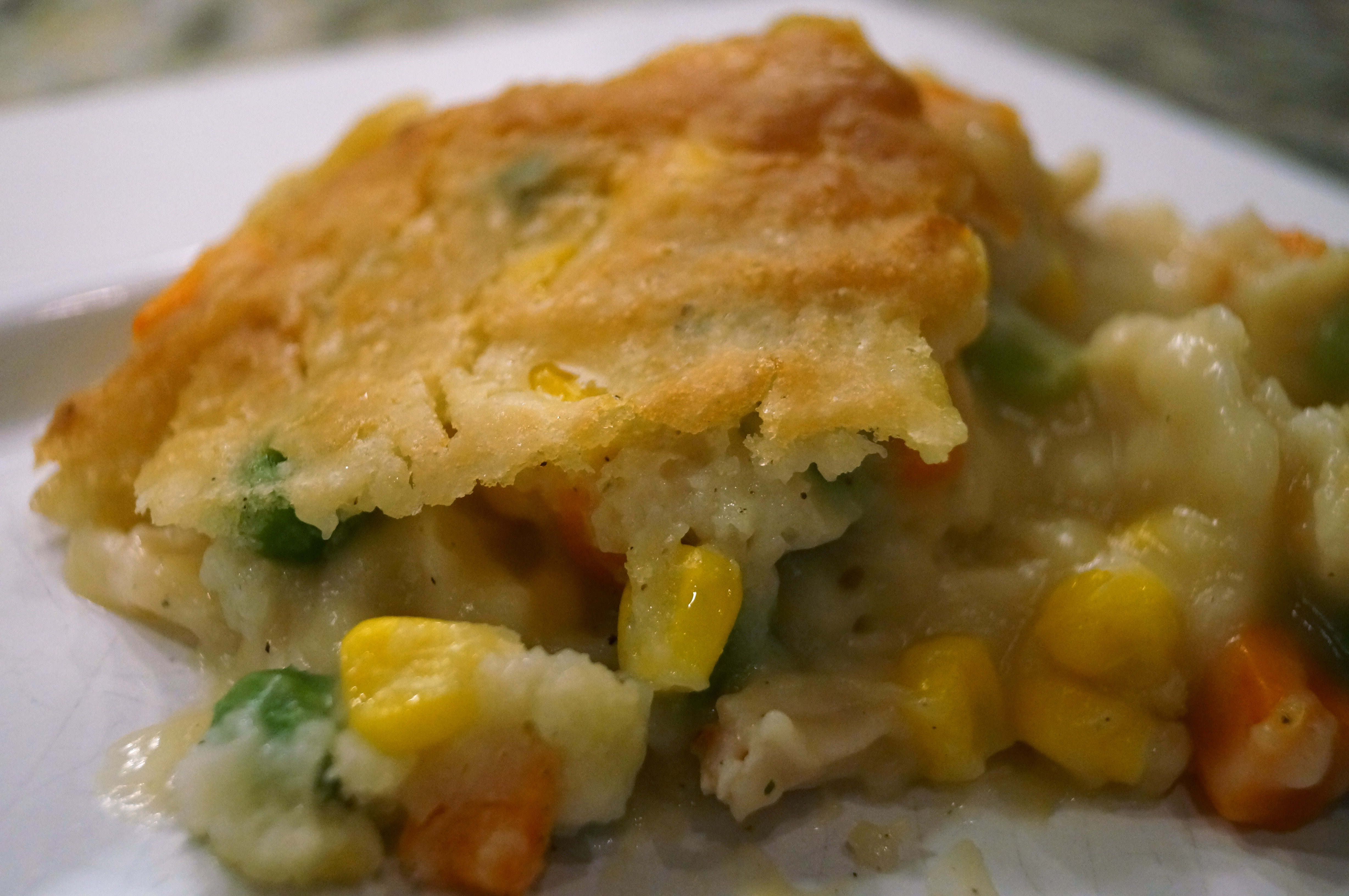Chicken Pot Pie With Bisquick  DSC