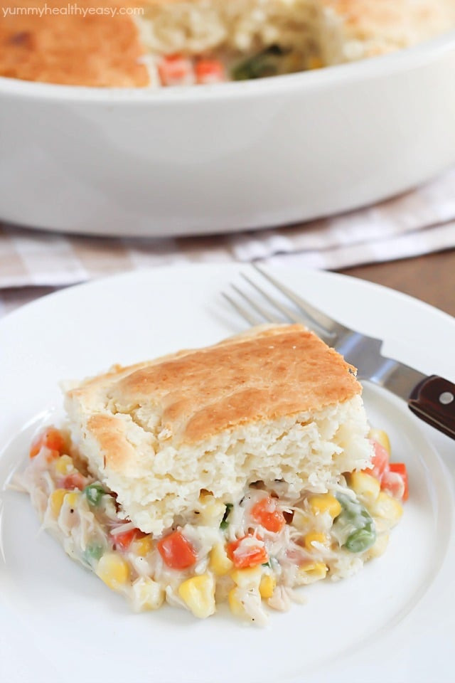 Chicken Pot Pie With Cream Of Chicken Soup  Easy Chicken Pot Pie Recipe Yummy Healthy Easy