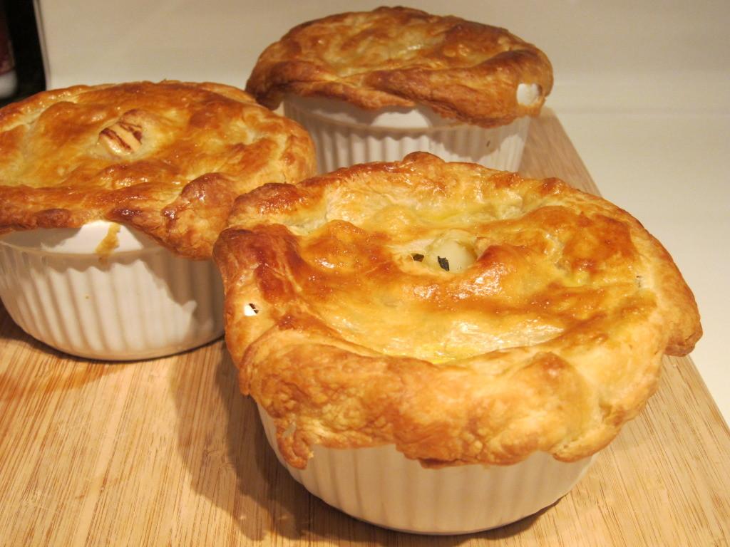 Chicken Pot Pie With Puff Pastry  Chicken Pot Pie