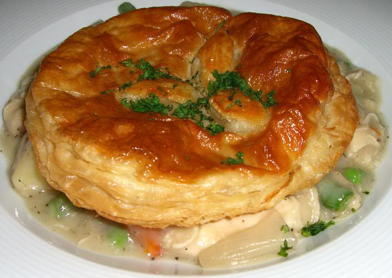 Chicken Pot Pie With Puff Pastry  Old Fashioned Chicken Pot Pies Love from Your Kitchen