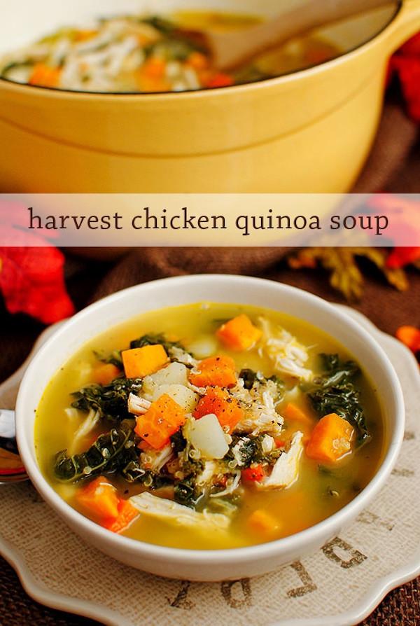 Chicken Quinoa Soup  5 Amazing Quinoa Soup Recipes