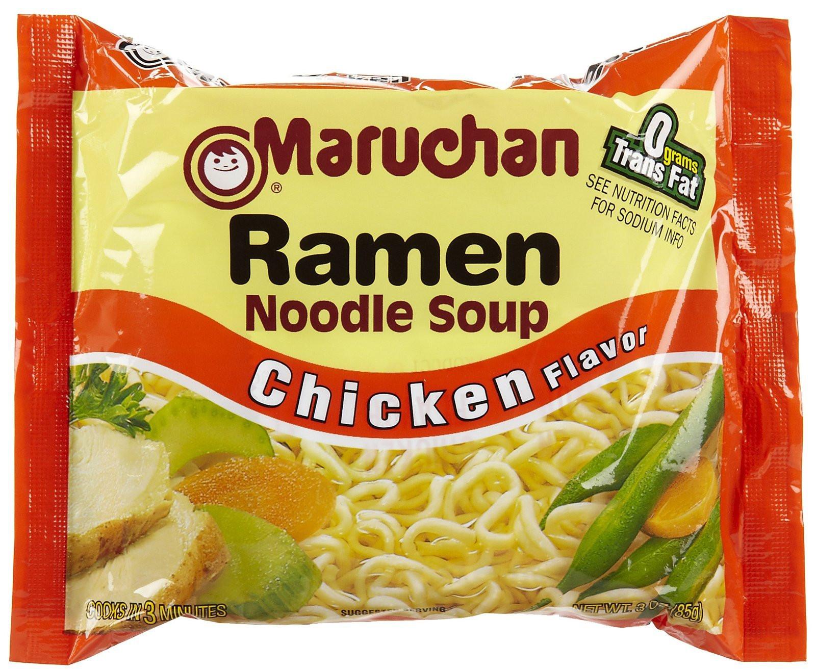 Chicken Ramen Noodles  Amazon Maruchan Ramen Beef 3 Ounce Packages Pack
