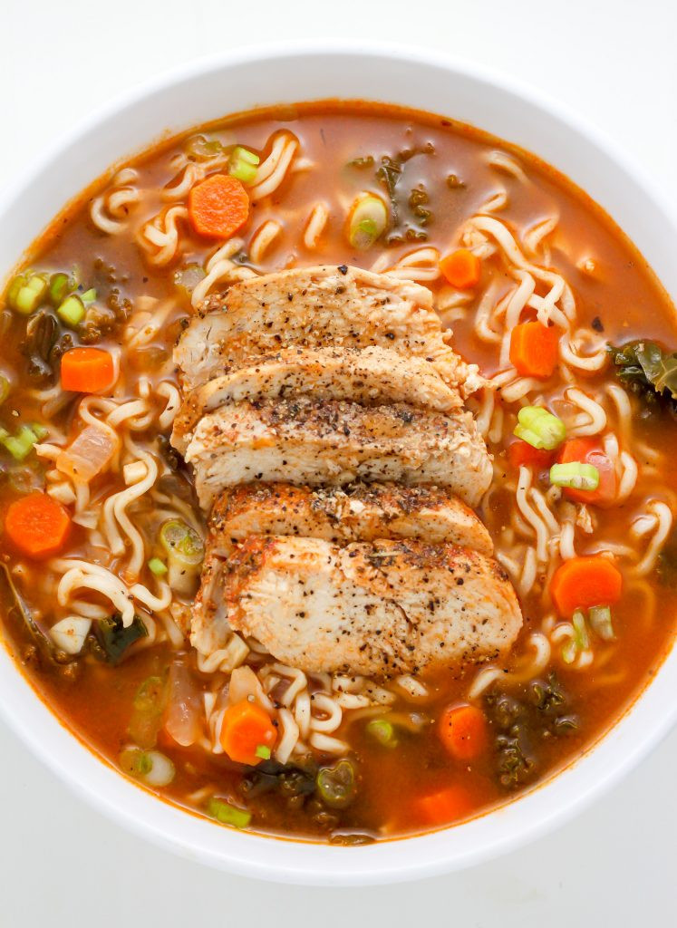 Chicken Ramen Noodles  Sunday Suppers Blackened Chicken Ramen Noodle Soup