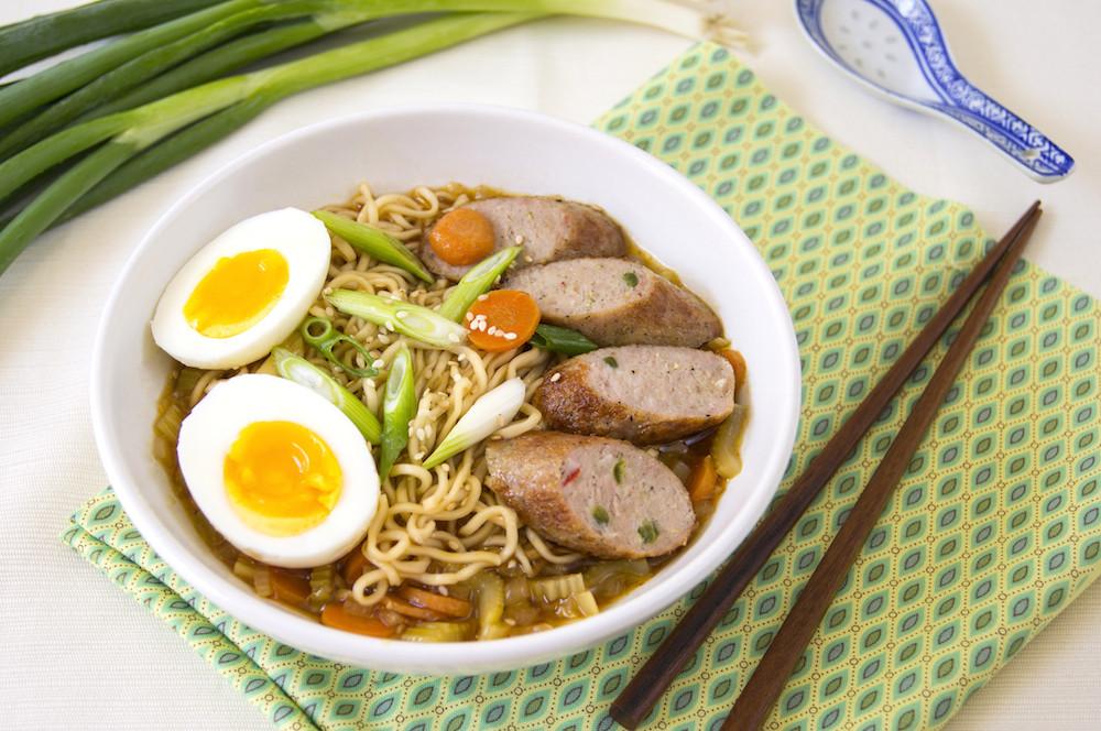 Chicken Ramen Noodles  Chicken Ramen Noodle Soup Viva La Food