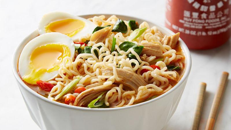 Chicken Ramen Noodles  Easy Spicy Chicken Ramen Noodle Soup Recipe Tablespoon