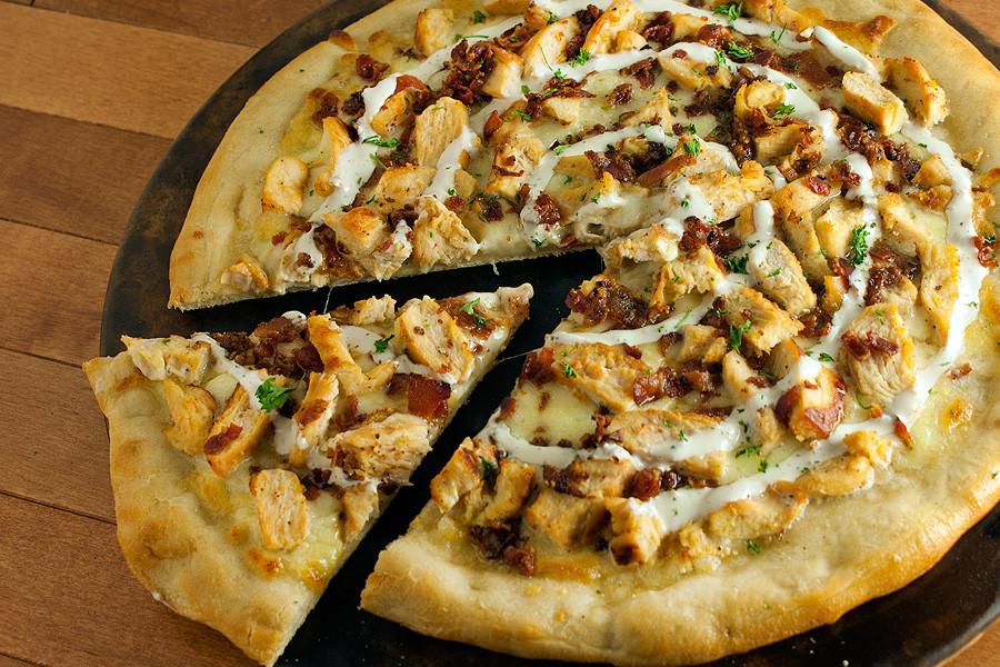 Chicken Ranch Pizza  Chicken Bacon Ranch Pizza