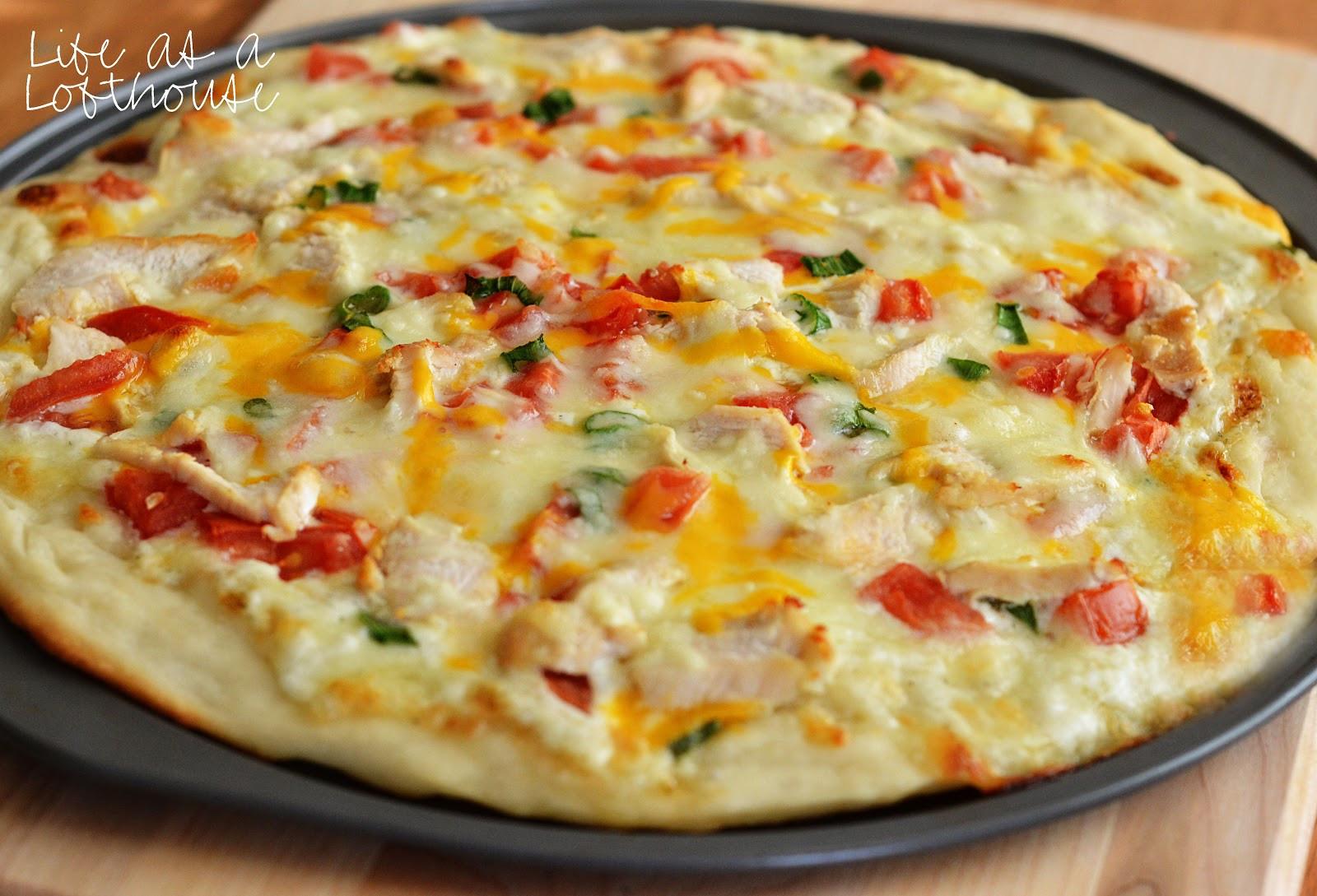 Chicken Ranch Pizza  Chicken Ranch Pizza