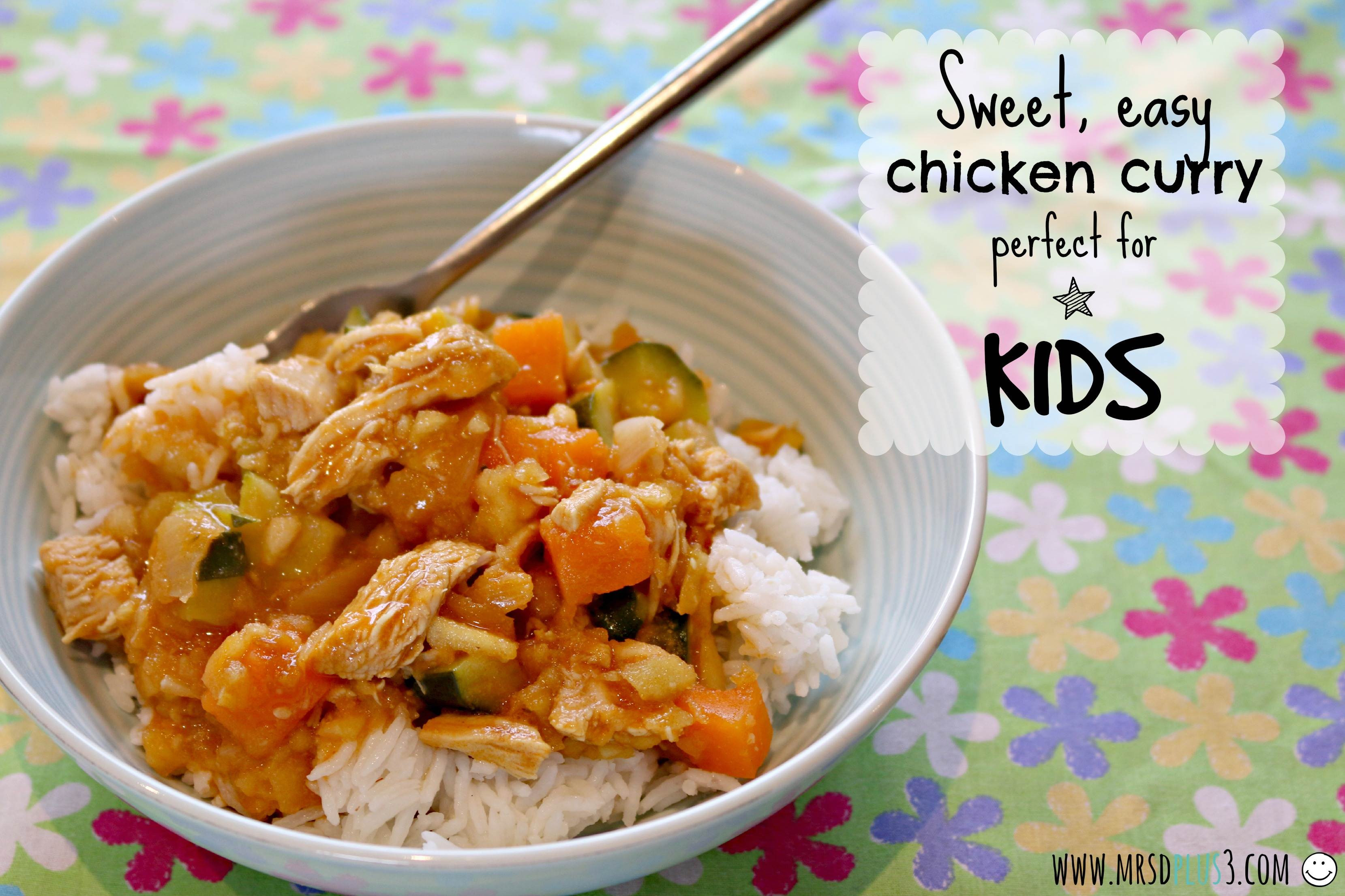 Chicken Recipes For Kids  Thermomix Recipe Easy Sweet Chicken Curry Mum s Lounge