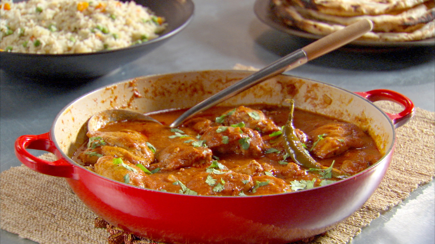 Chicken Recipes Indian  Indian Spiced Chicken Recipe & Video