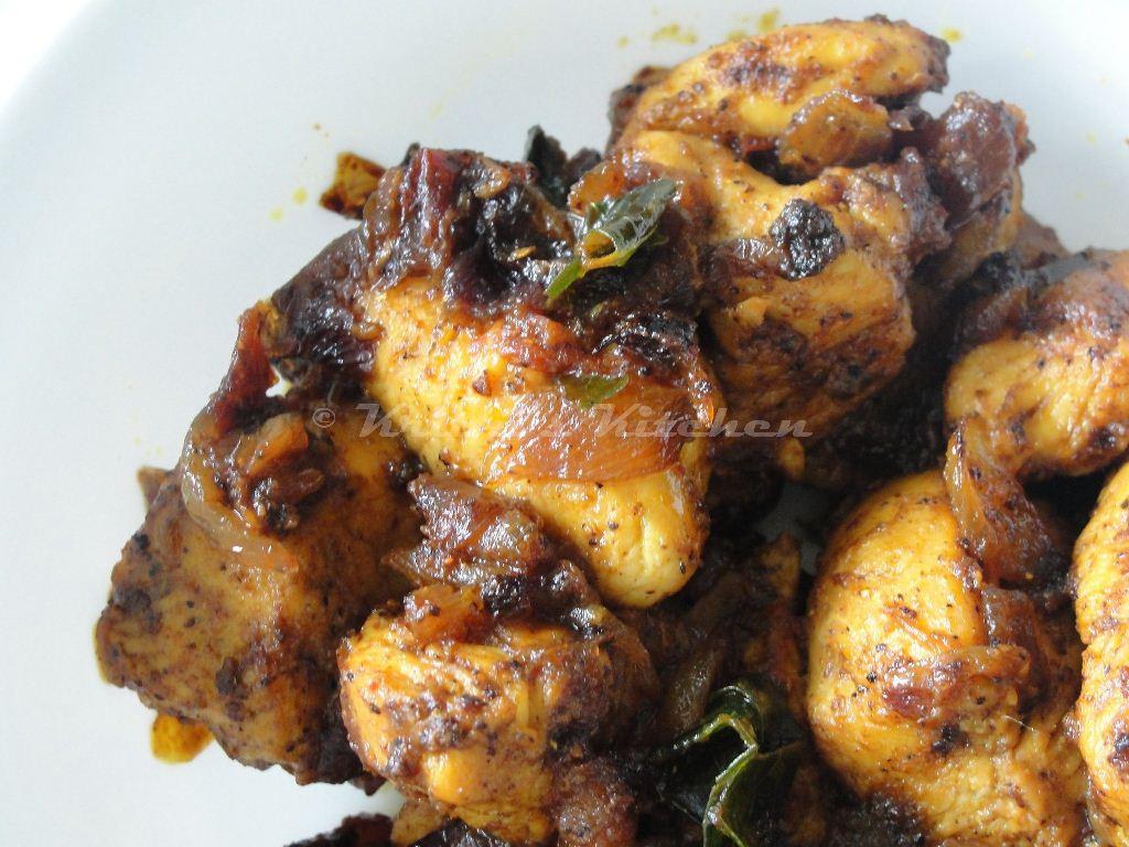 Chicken Recipes Indian  Krithi s Kitchen Chicken Chukka Easy Indian Chicken