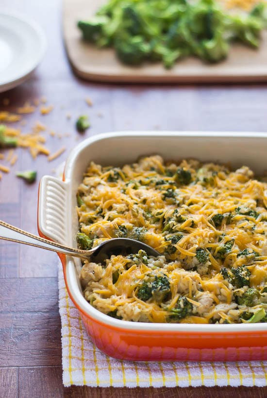 Chicken Rice Broccoli Casserole  Cheesy Chicken Broccoli Rice Casserole