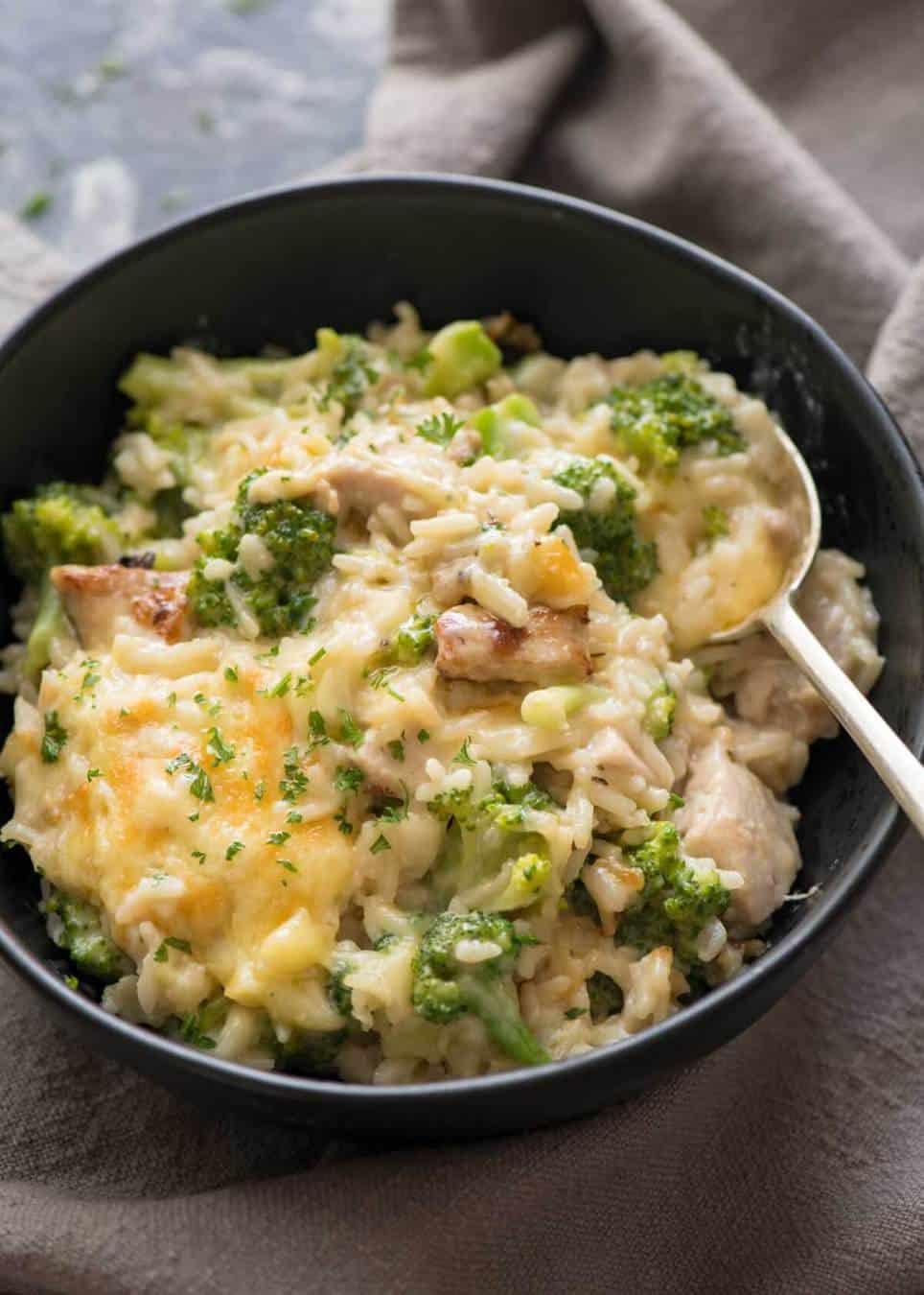 Chicken Rice Broccoli Casserole  e Pot Chicken Broccoli Rice Casserole