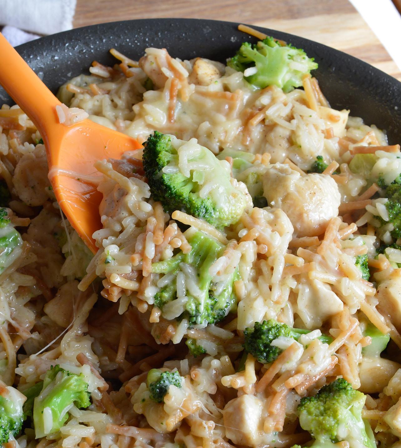Chicken Rice Broccoli Casserole  e Pot Cheesy Chicken Broccoli Rice Casserole