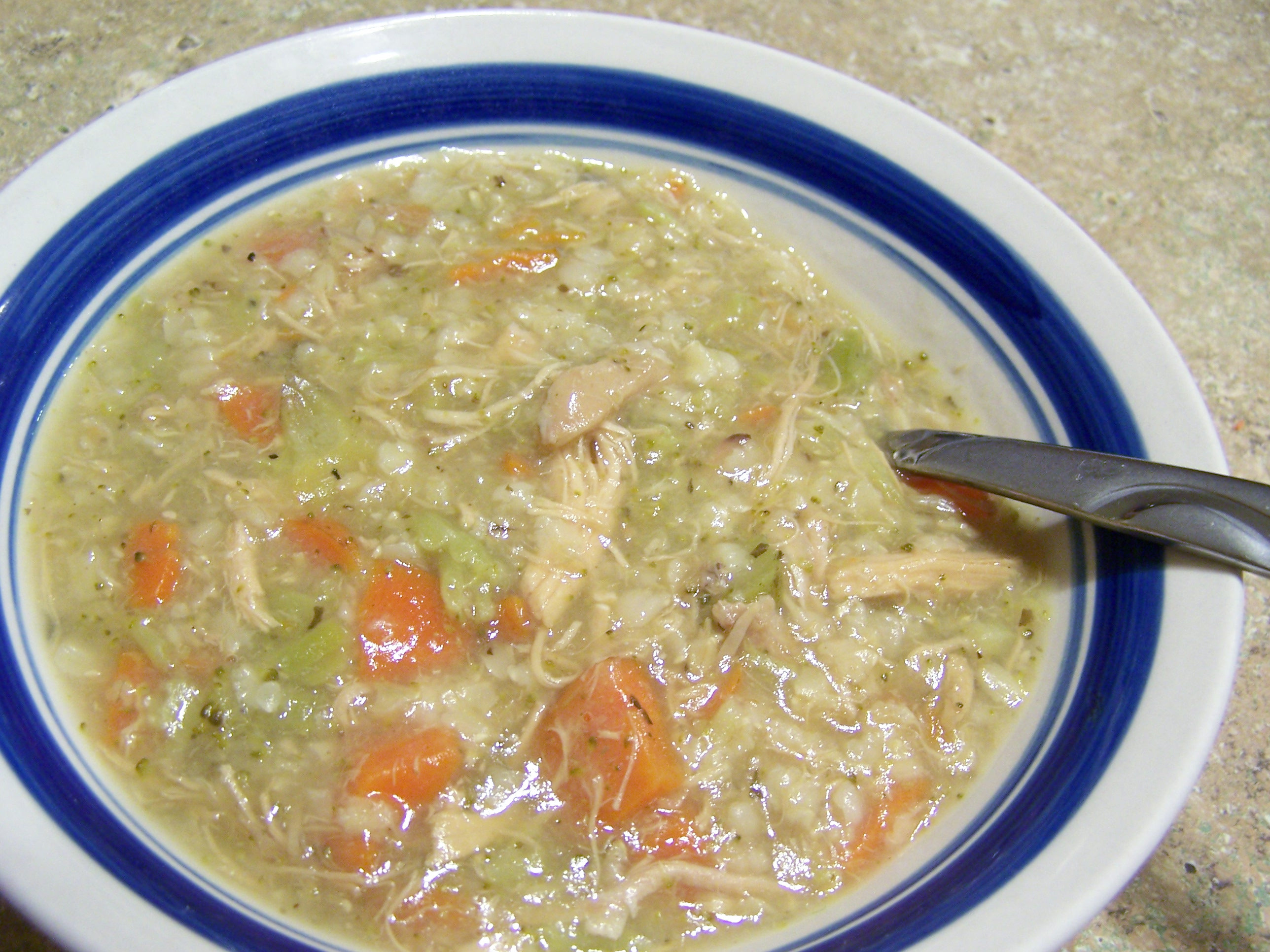Chicken Rice Soup  Crock Pot
