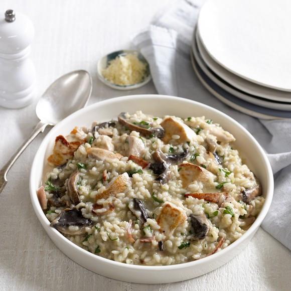 Chicken Risotto Recipes  Chicken and Mushroom Risotto Recipe myfoodbook