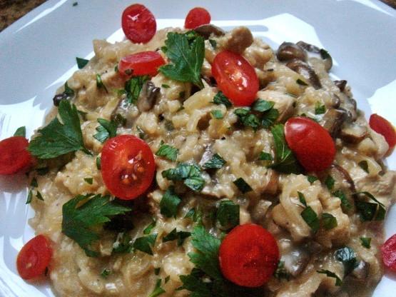 Chicken Risotto Recipes  Chicken And Mushroom Risotto Recipe Food