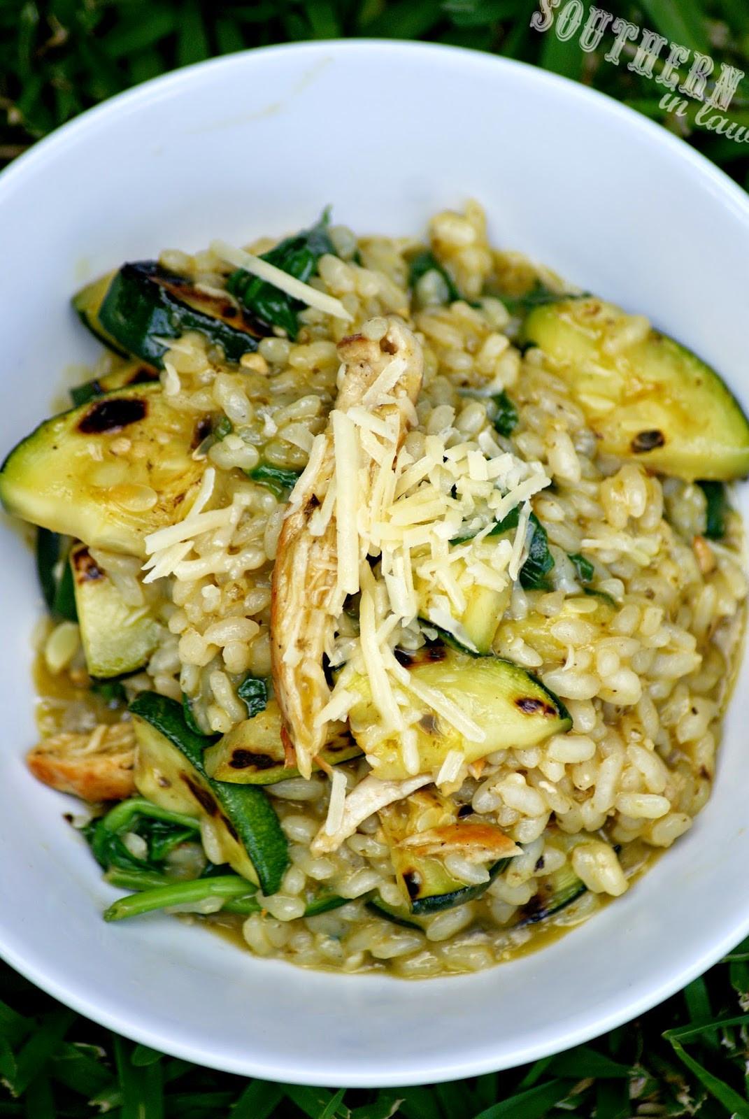 Chicken Risotto Recipes  Southern In Law Recipe Easy Healthy Chicken Pesto Risotto