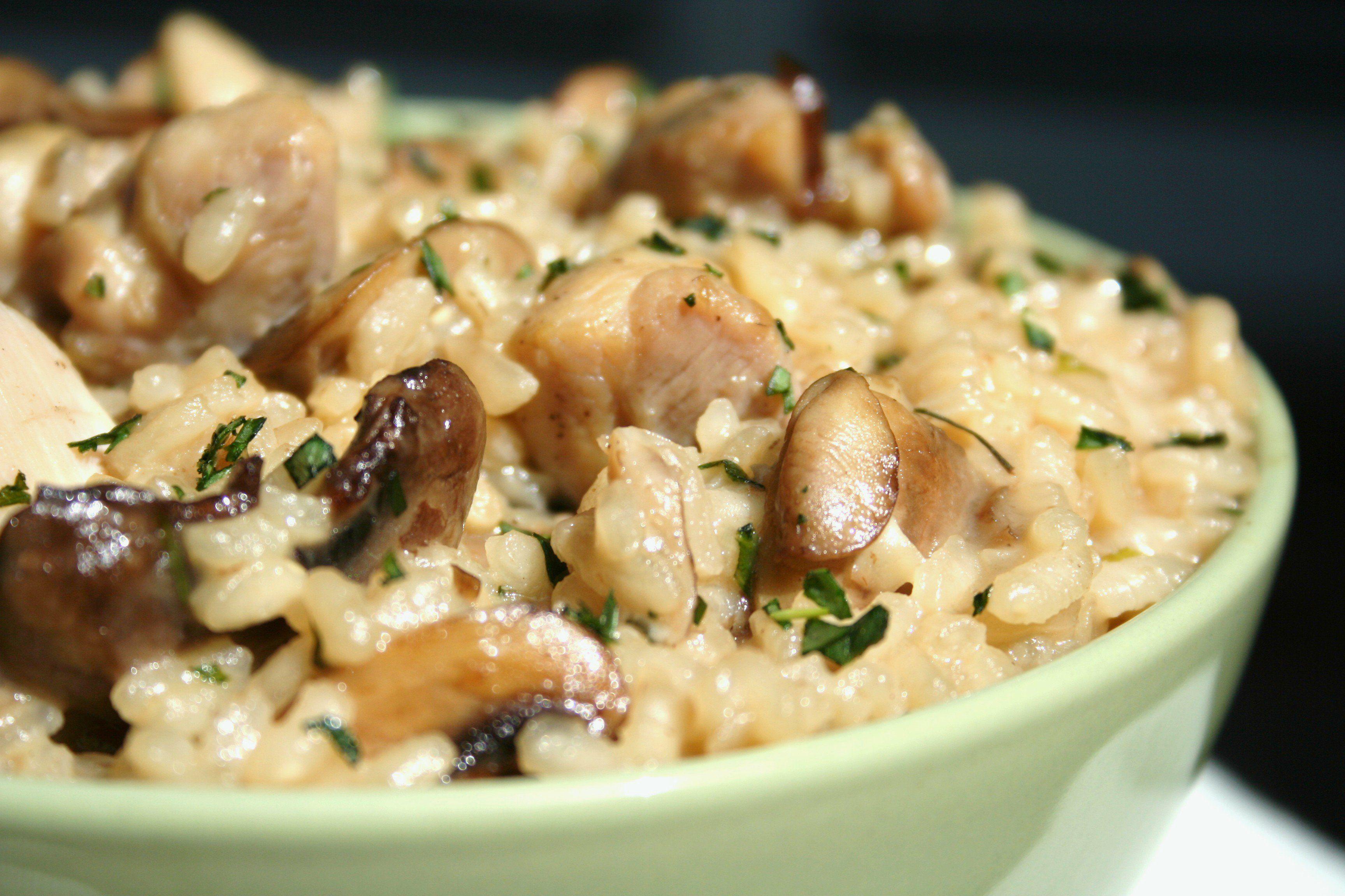Chicken Risotto Recipes  Chicken and Mushroom Risotto recipe – All recipes Australia NZ