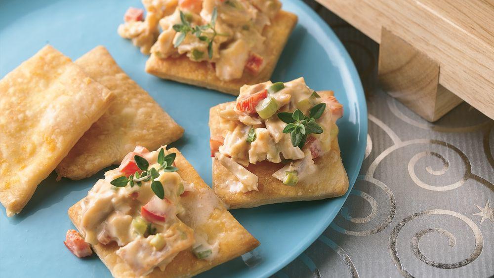 Chicken Salad Appetizer  Thai Chicken Salad Appetizers Recipe Pillsbury