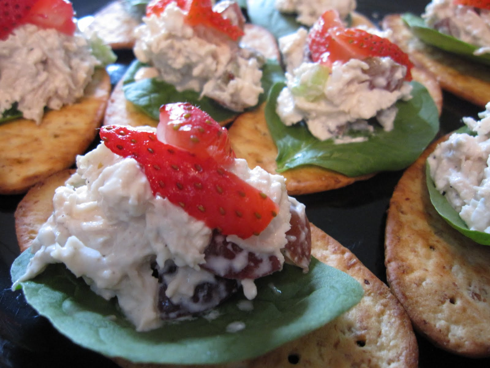 Chicken Salad Appetizer  Everyday Moments Strawberry Chicken Salad Appetizers and