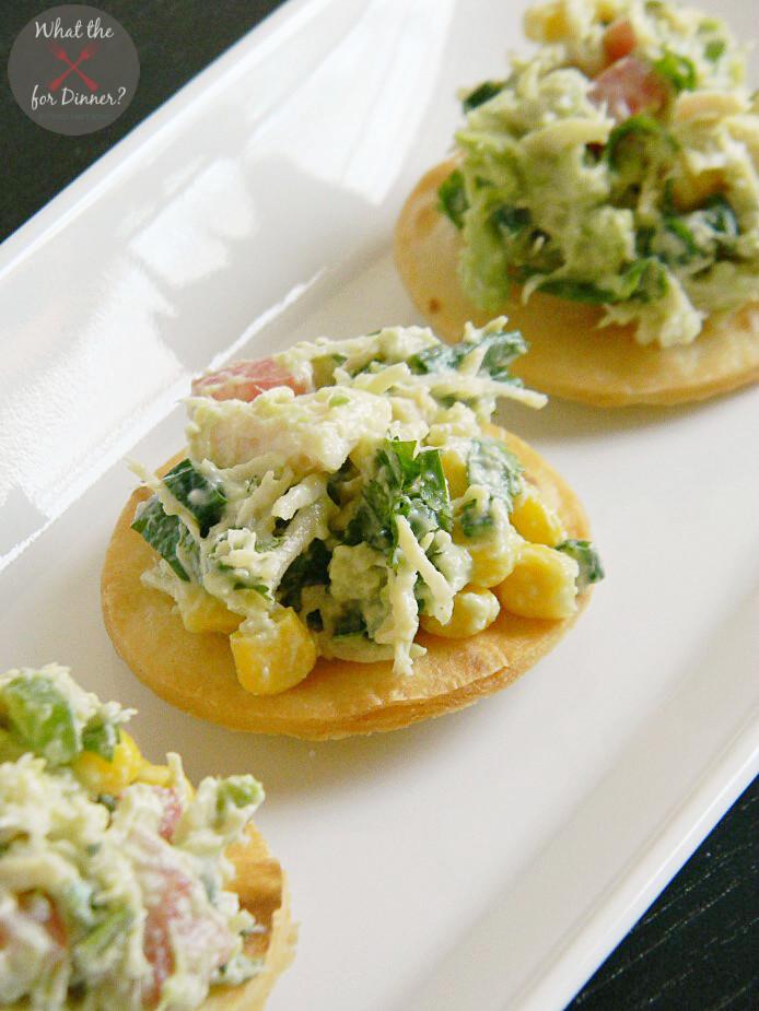 Chicken Salad Appetizer  Tex Mex Chicken Salad Bites Mom s Test Kitchen