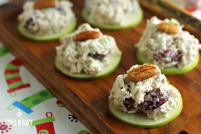 Chicken Salad Appetizer  Recipe for Chicken Salad Apple Slider