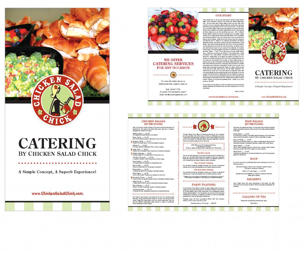 Chicken Salad Chick Menu  chicken salad chick catering menu