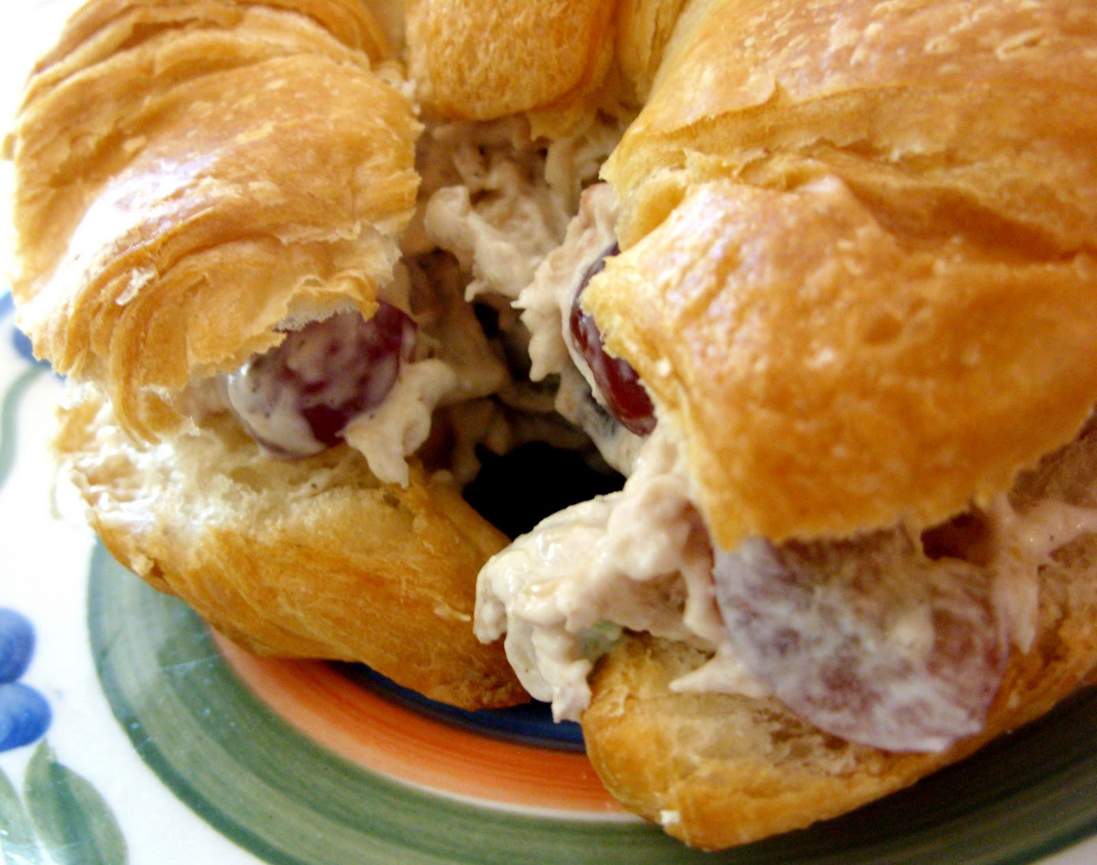 Chicken Salad Sandwich With Grapes  RoCa and pany Chicken Salad with Sweet Red Grapes