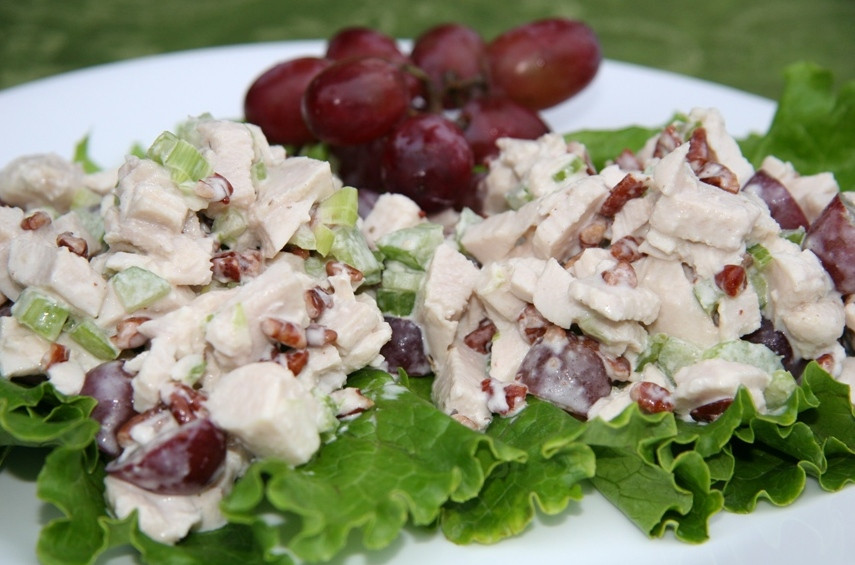Chicken Salad Sandwich With Grapes  Fall in Love with Grapes