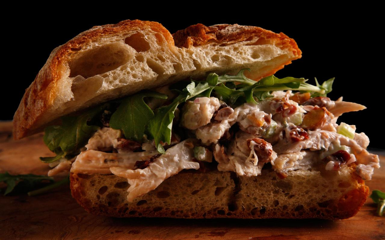Chicken Salad Sandwiches  Chicken Salad Sandwich Recipe Chowhound