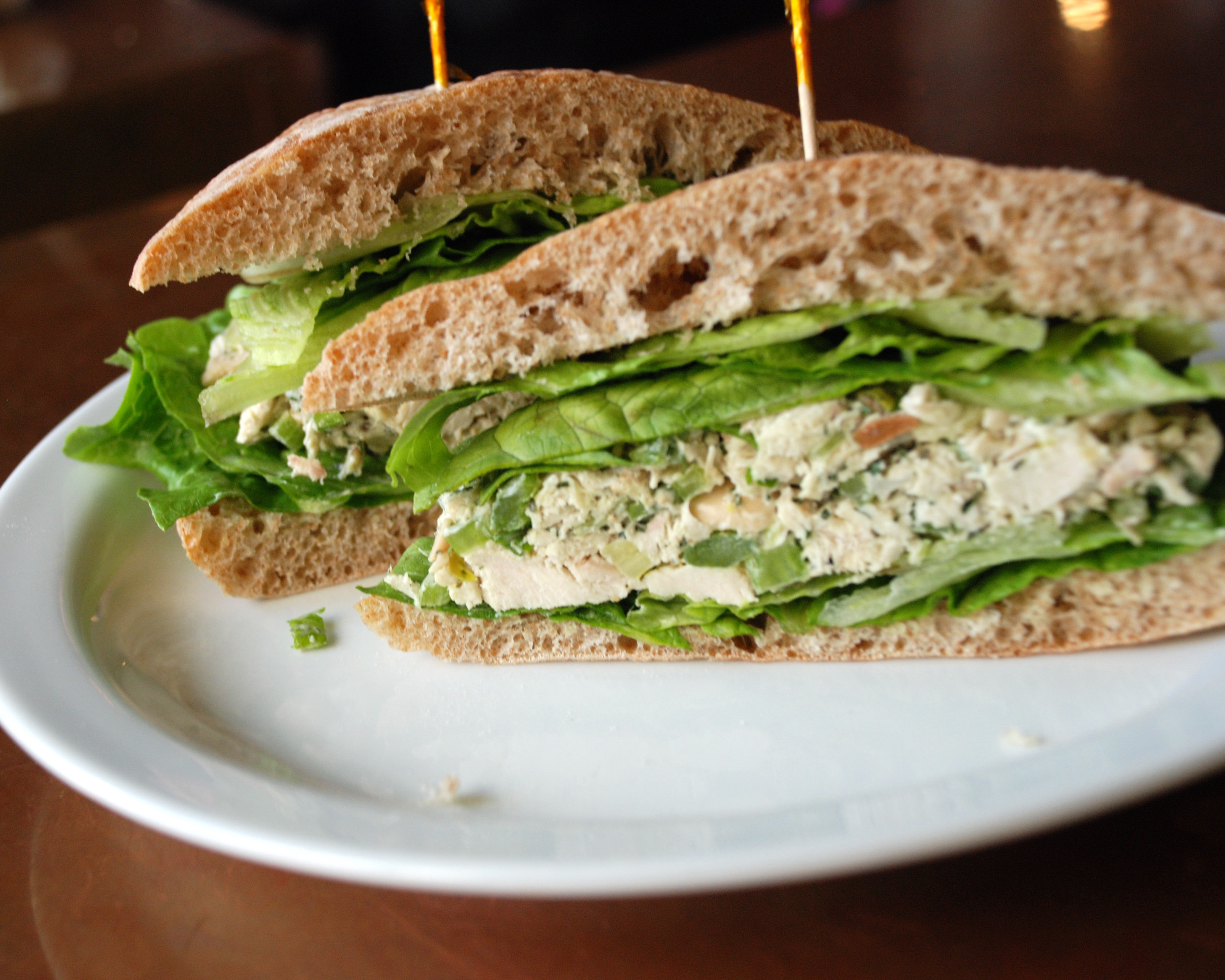 Chicken Salad Sandwiches  Chicken Salad Sandwich Recipe — Dishmaps