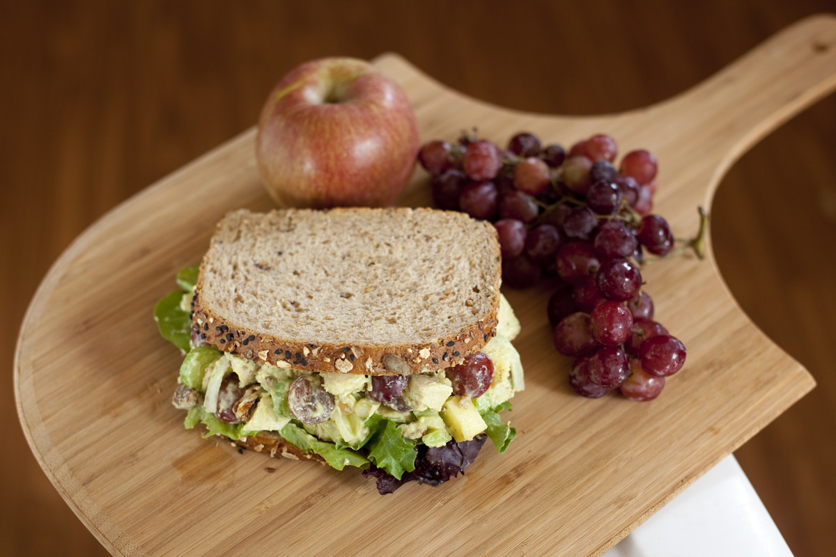 Chicken Salad Sandwiches  Chicken Salad in Creamy Avocado Dressing Recipe Eating