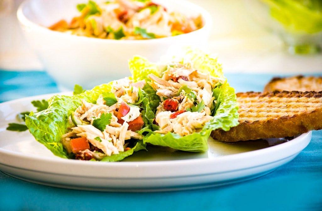 Chicken Salad Without Mayo  Italian Chicken Salad Without Mayo Recipe Nonna Box