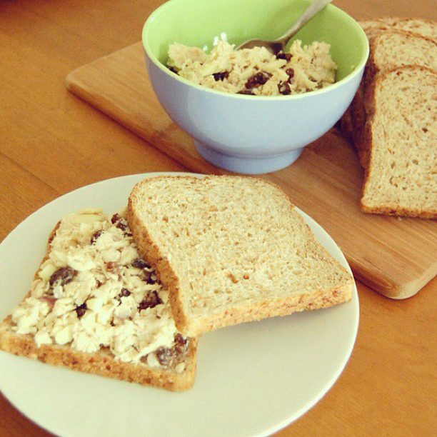 Chicken Salad Without Mayo  Cooking for the Average Joan recipe CHICKEN SALAD
