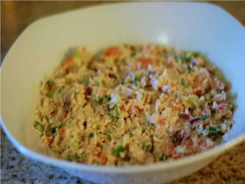 Chicken Salad Without Mayo  Southern California Belle No Mayo Spicy Chicken Salad