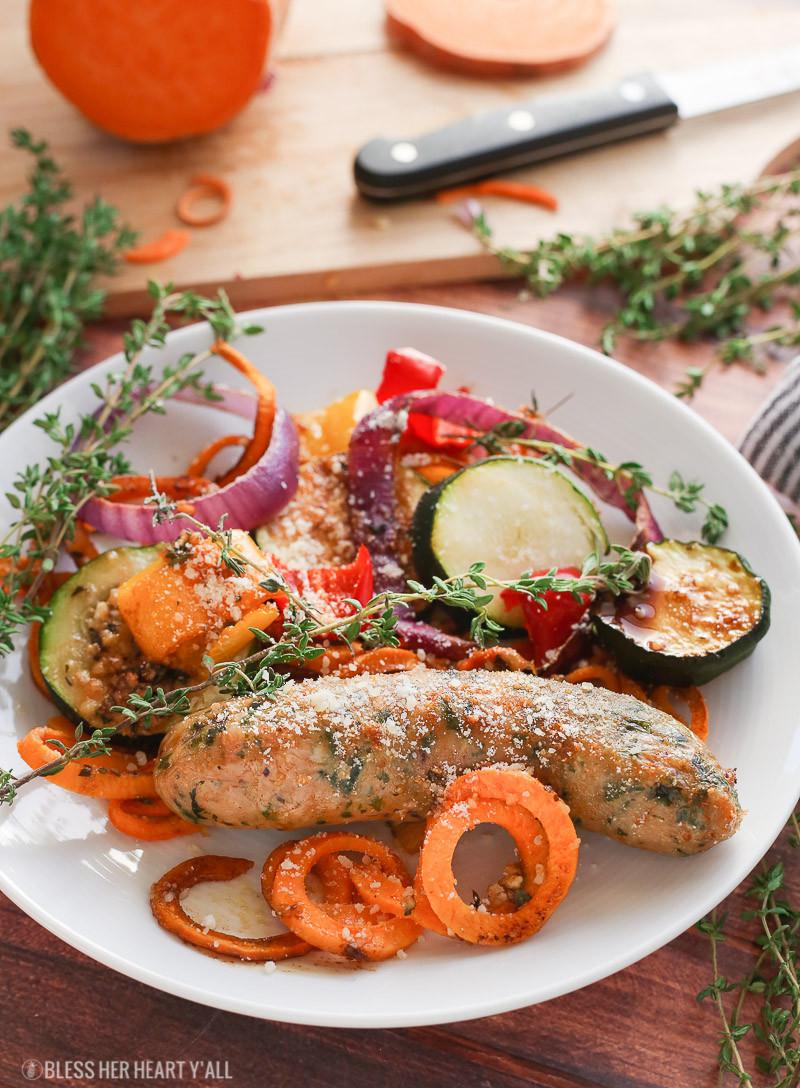 Chicken Sausage Recipes  healthy chicken sausage recipes