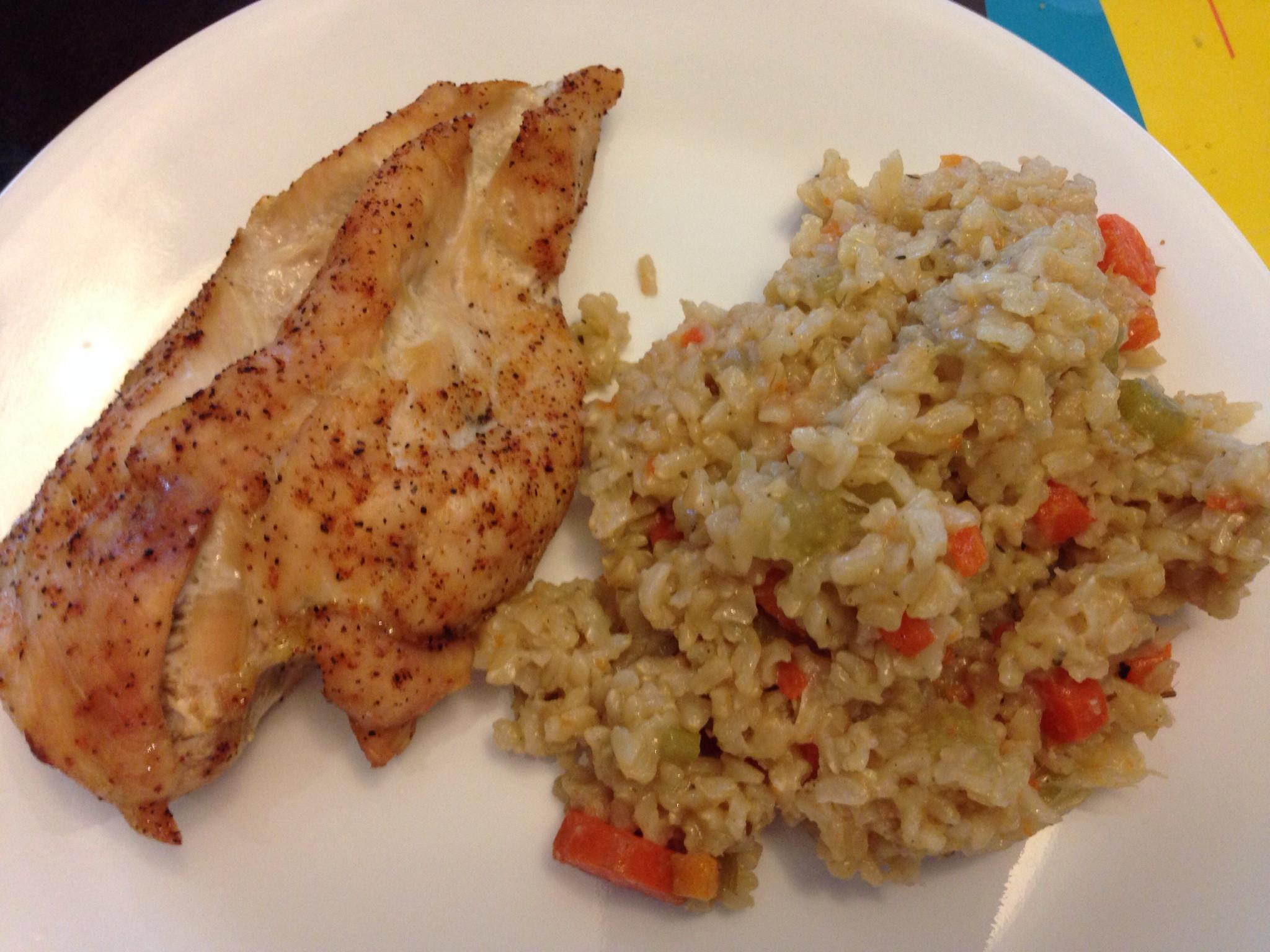 Chicken Side Dishes  Brown Rice Pilaf Mrs Criddles Kitchen