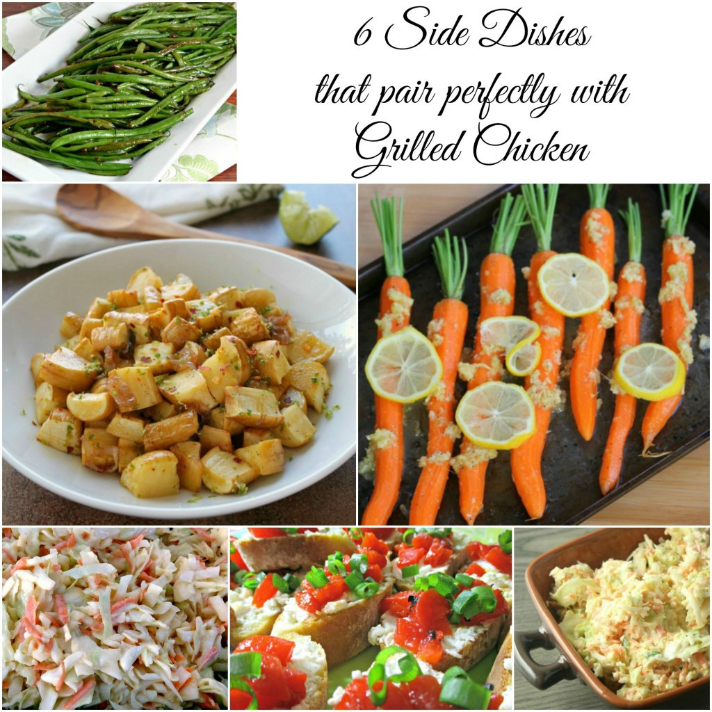 Chicken Side Dishes  The 6 Best Side Dishes to Pair with Grilled Chicken
